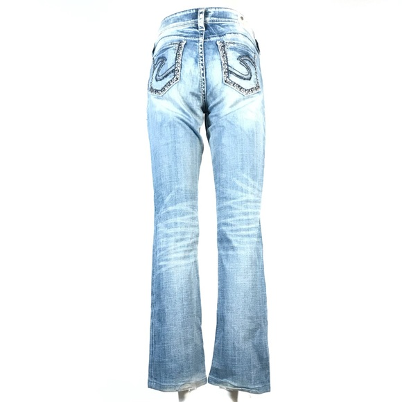 Silver suki mid baby boot jeans 28x31